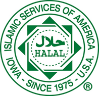 ISA Halal certification logo (circle)