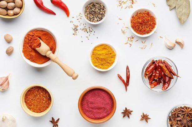 Halal certification confirms all spices are processed following Islamic dietary laws.